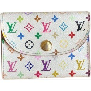 Authentic Louis Vuitton Multicolor Card Holder